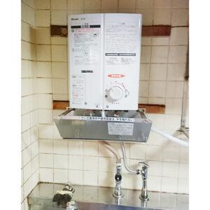 リンナイ湯沸かし器RUS-V51YT(WH)へ愛知県名古屋市北区交換工事